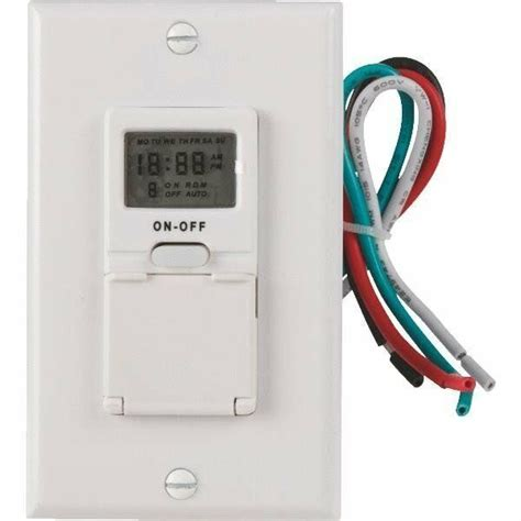 in wall digital timer 7 day programmable replaces