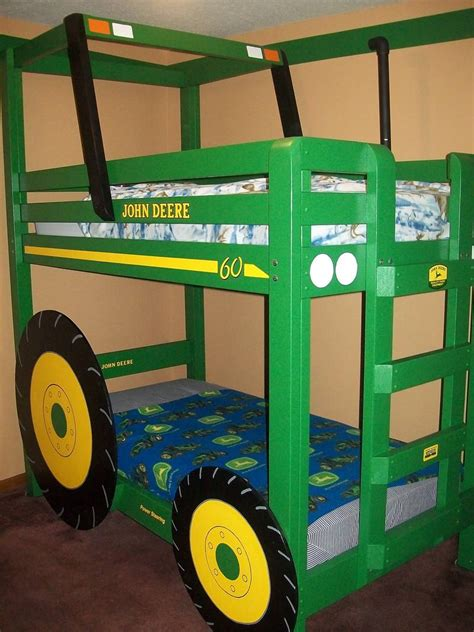 ana white build a john deere tractor toddler bunk beds