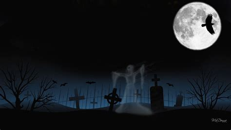 Graveyard Nightmare Before Background Images by Graveyard Backgrounds Wallpaper Cave