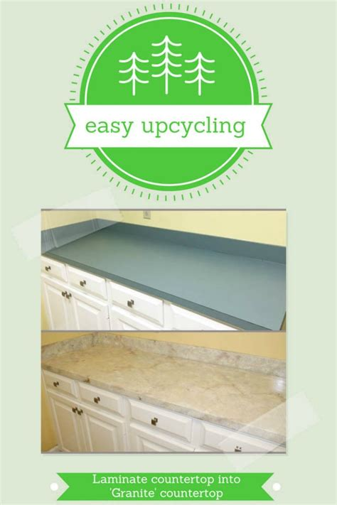 Easy Upcycling Transform Laminate Countertops Into