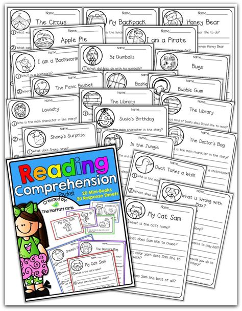 reading comprehension packet perfect for fluency and