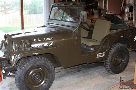 willys army jeep 1952 m38a1 willys military jeep