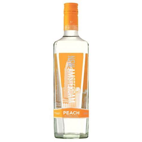 new amsterdam vodka new amsterdam vodka peach liquor mart boulder co