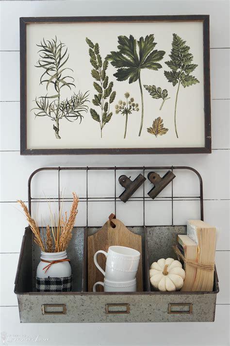 farmhouse fall decor seeking lavendar lane