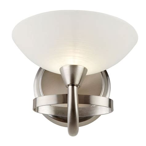 cagney wall light satin chrome