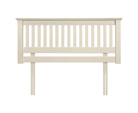 canapé king size cameo white wooden headboard just headboards