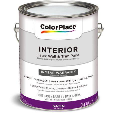color place interior satin light base 1 gallon walmart