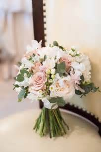 Beautiful Pink Country House Wedding Flower Bouquet