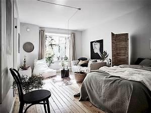 53, Best, Minimalist, Studio, Apartment, Small, Spaces, Decor, Ideas, 48
