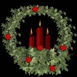 Christmas tree and Xmas decoration animations