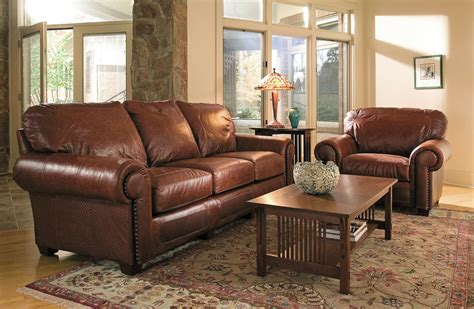Stickley Leather Sofa Ourproducts Results Stickley