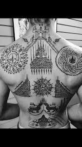 Sak Yant Tattoo Meaning Ideas, & Designs | Back Tattoos