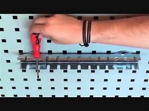 Werkzeughalter Selber Bauen : werkzeughalter werkzeughalterung 37 cm f r lochwand powerplustools gmbh ~ Orissabook.com Haus und Dekorationen