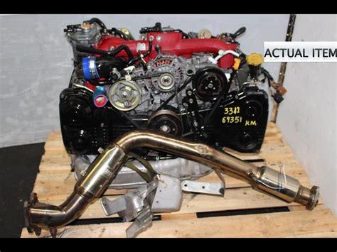 subaru sti jdm ej version dohc turbo  moteur