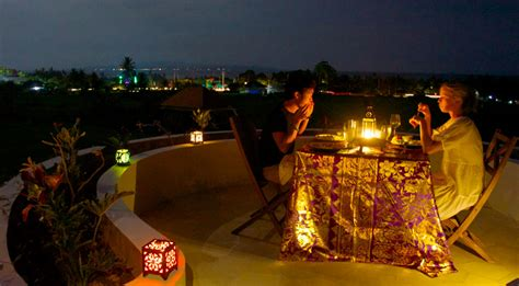 bali dining food floating leaf eco luxury retreat