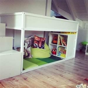 Ikea Bett Kinderzimmer : die besten 25 kura bett ideen auf pinterest kura bett hack ikea kura und kura hack ~ Frokenaadalensverden.com Haus und Dekorationen