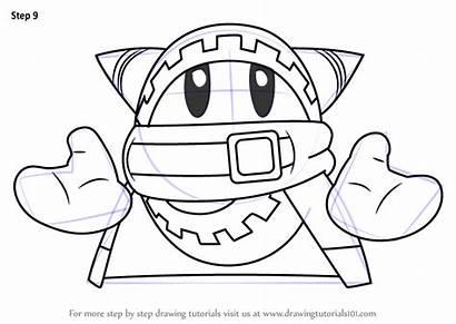 Kirby Draw Magolor Drawing Step Tutorials Drawingtutorials101