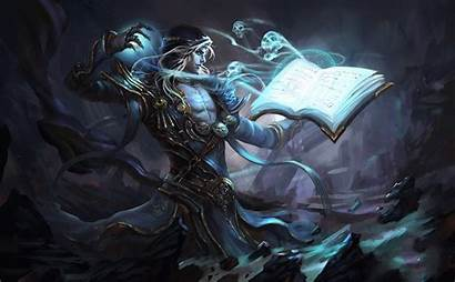 Sorcerer Fantasy Dark Rpg Necromancer Character Evil