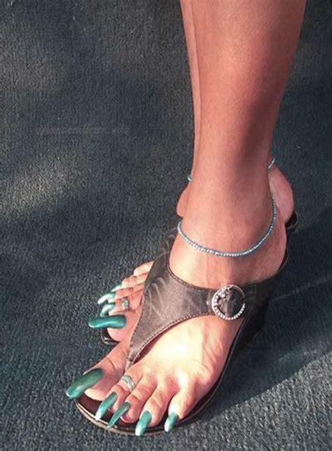 Dejarse largas las uñas de los pies. Las Mejores Imágenes de Uñas Acrílicas para Pies de este 2019 in 2020 | Long toenails, Womens ...