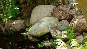 etape 5 cascade artificielle resultat final cascade With decoration bassin de jardin 9 une piscine avec faux rochers decoratifs
