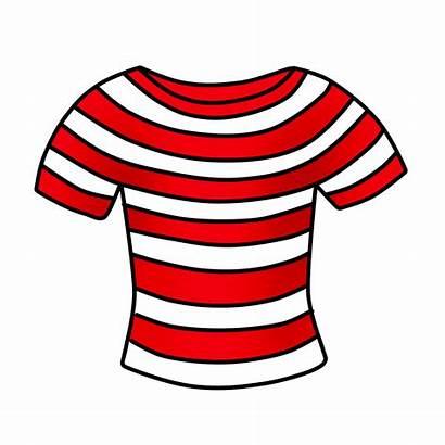 Shirt Clipart Striped Clip Drawing Cliparts Tshirt