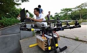 SF Express tests parcel delivery with robotic drones ...