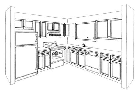 parallel kitchen ideas kitchen perspective drawing like success