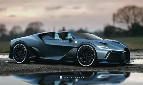 The bugatti divo was unveiled at the exclusive event called the quail this august in monterey, california. Bugatti Divo Speedster Rendered as Rumored $18 Million One-Off - autoevolution