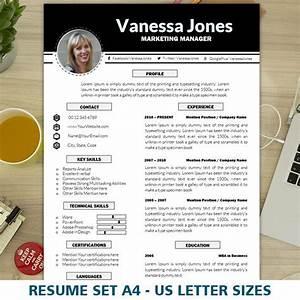 marketing resume template cv template creative resume With creative marketing resume templates
