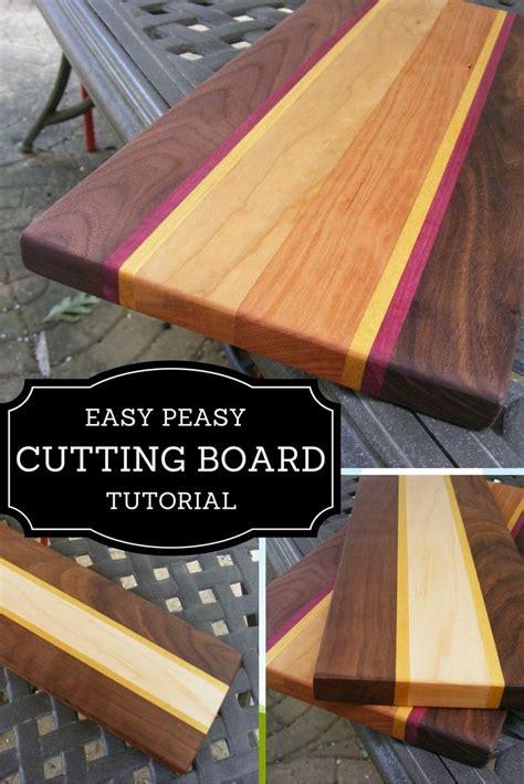 easy peasy cutting board tutorial diy home decor diy
