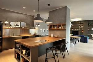 Küchen Und Esszimmerstühle : 1001 ideen zum thema offene k che trennen interior pinterest offene k che k che und ~ Watch28wear.com Haus und Dekorationen