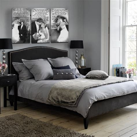 pin  jamie michael  house black grey bedroom