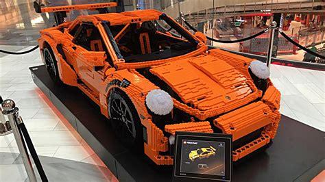 lego porsche gt3 scale porsche 911 gt3 rs brings a lego kit to