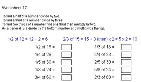 fracts 17 fractions of anglia cus maths zone