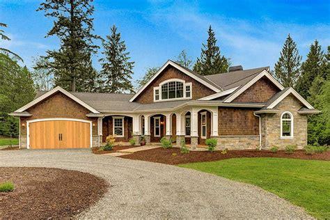 Dramatic Craftsman House Plan