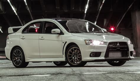 Us Bids Farewell To Mitsubishi Evo X With 303 Hp Final Edition