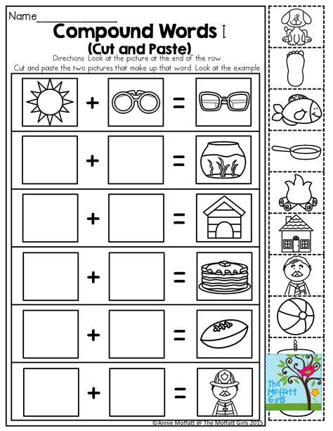 worksheet  kindergarten printable