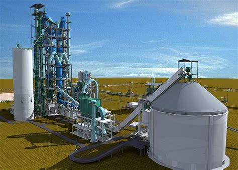 cement plant  cgtrader