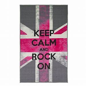 tapis chambre ado rock on flair rugs 100x160 With tapis ado fille