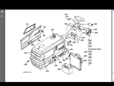 L2350 Kubotum Tractor Wiring Diagram by Kubota L3410 L3710 L4310 L4610 Parts Manual For Gas