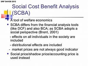 Social cost benefit analysis: a way to optimize net ...