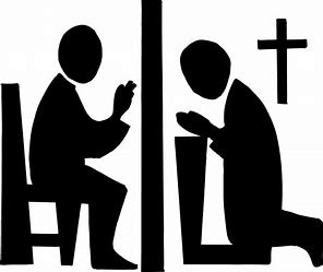 Image result for Confession CLIP ART