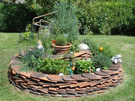 Garten Gestalten Mit Dachziegeln by Garten Kr 228 Uterspirale Gartenideen Kr 228 Uterspirale