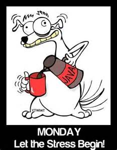 Monday Need Coffee Cartoon