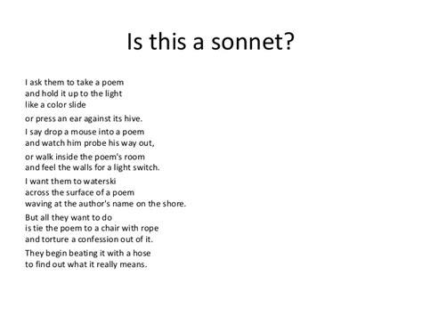 sonnets maan