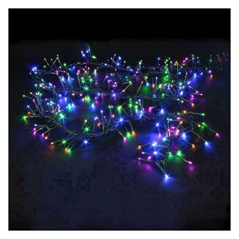 480 LED Multicolour Outdoor Cluster Christmas Lights   Buy