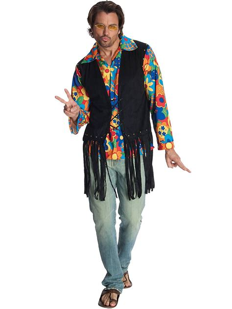 Mens Flower Power Hippie Costume | Wholesale Hippie Costumes for Men | BOO!!! | Pinterest ...