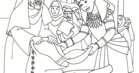 joseph distributing grain genesis  coloring bible ot genesis pinterest bags