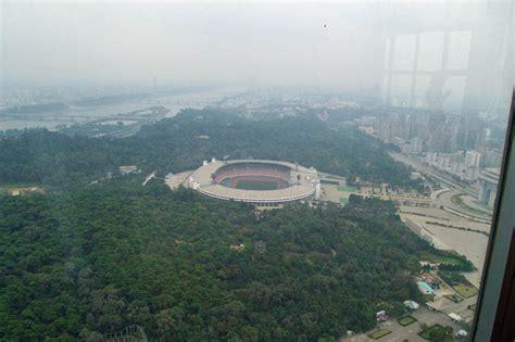 Aerial View of Kim Il Sung Stadium