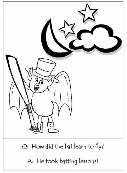 Halloween Coloring Riddles Pages Dauber Bingo Ws